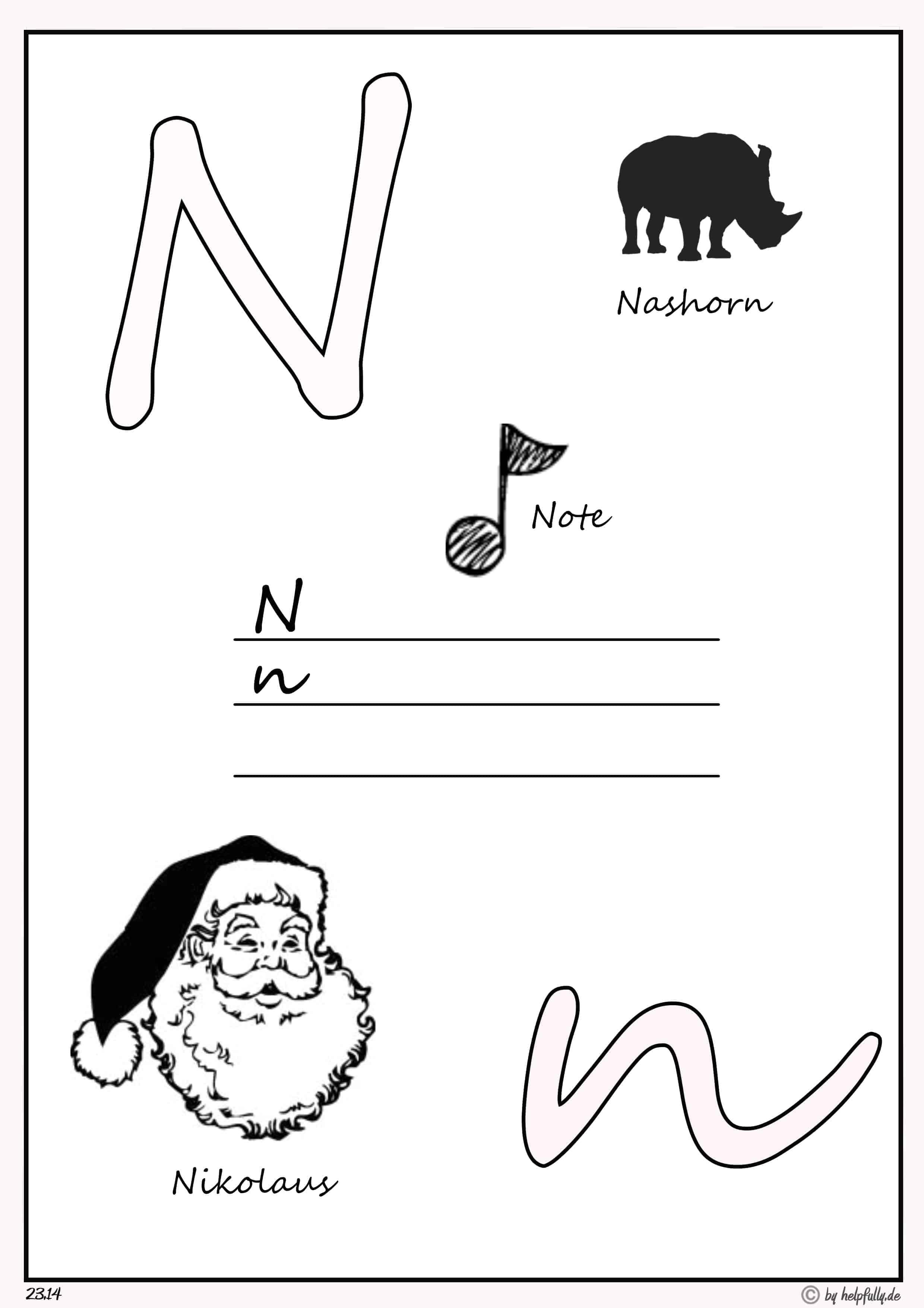"lern' das abc  buchstabe ""n"""