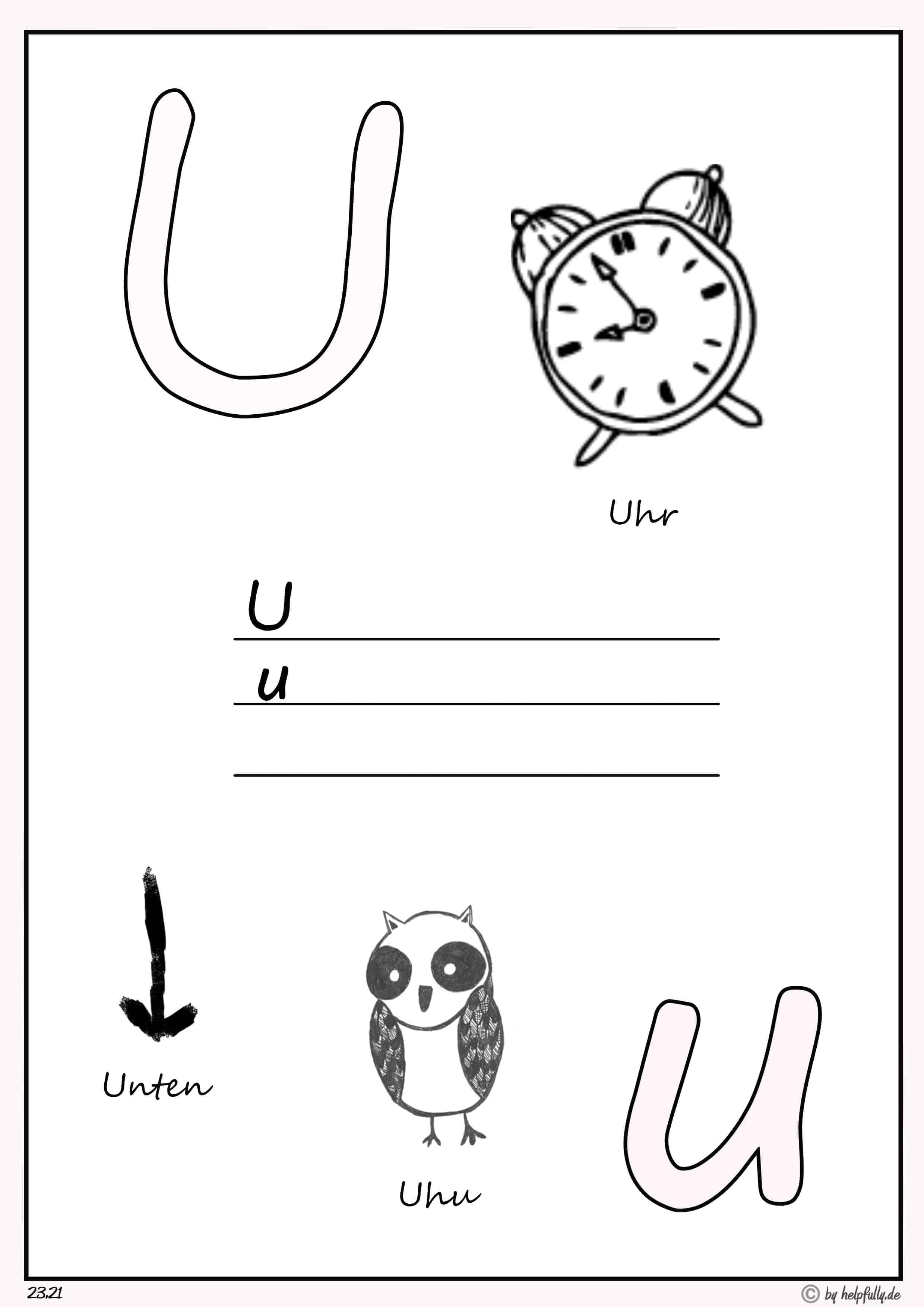 buchstaben zum ausdrucken | vorlage als gratis pdf