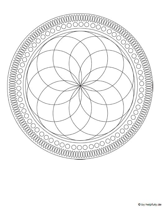 35 Hubsche Mandala Vorlagen Zum Ausdrucken 11