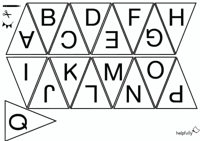 Buchstaben Ausdrucken Gratis Abc Lernblatter Vorlagen