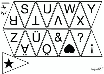 Buchstaben Ausdrucken Gratis Abc Lernblätter Vorlagen Helpfully De